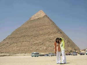 me, sis, and The Giza
