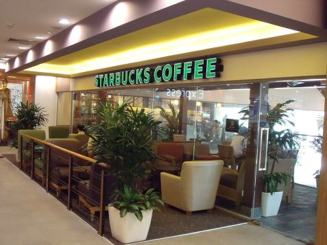 Gerai Starbucks di West Coast